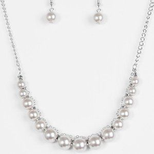 The FASHION Show Must Go On! – Silver Necklace Set